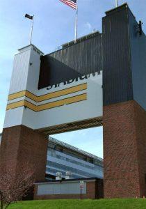Purdue Scoreboard backside before