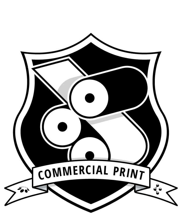 Commercial Print badge