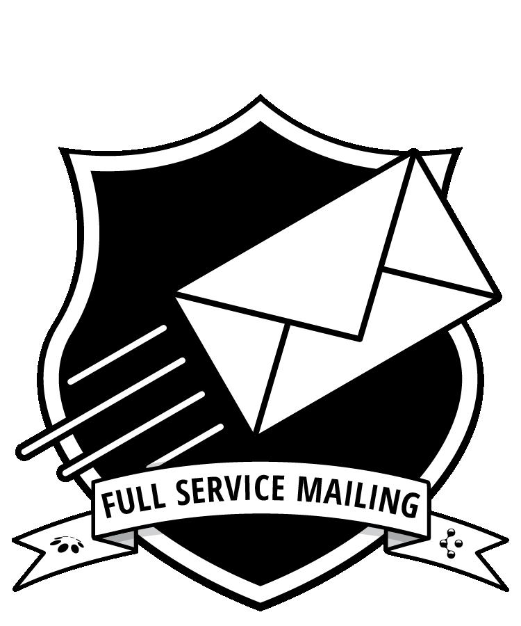 Mailing badge