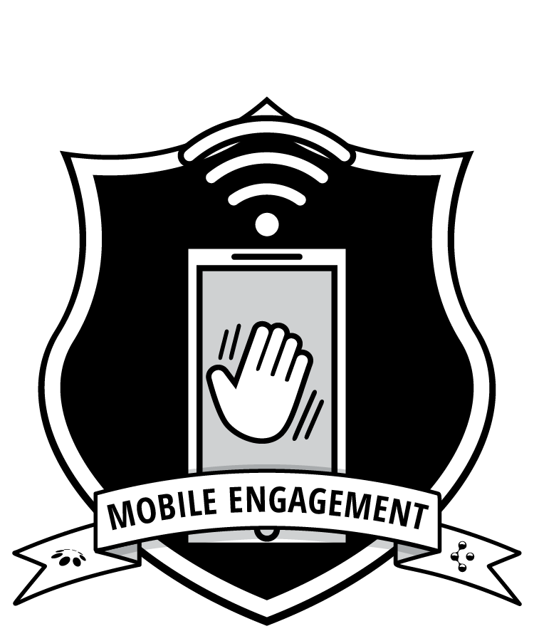 Mobile Engagement badge