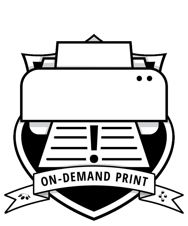 On-Demand Print badge